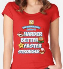 Daft Plumber Women's Fitted Scoop T-Shirt