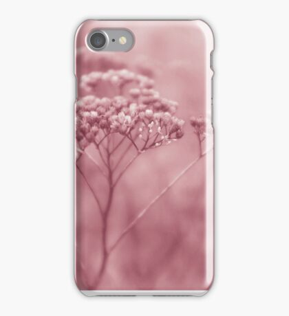 Nature in pink iPhone Case/Skin