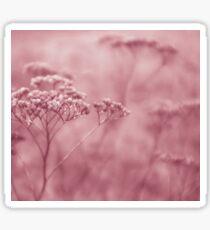 Nature in pink Sticker