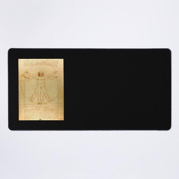 "Leonardo DaVinci's ""Vitruvian Man"" Desk Mat"