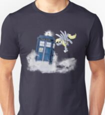 Derpy Tardis Delivery Unisex T-Shirt