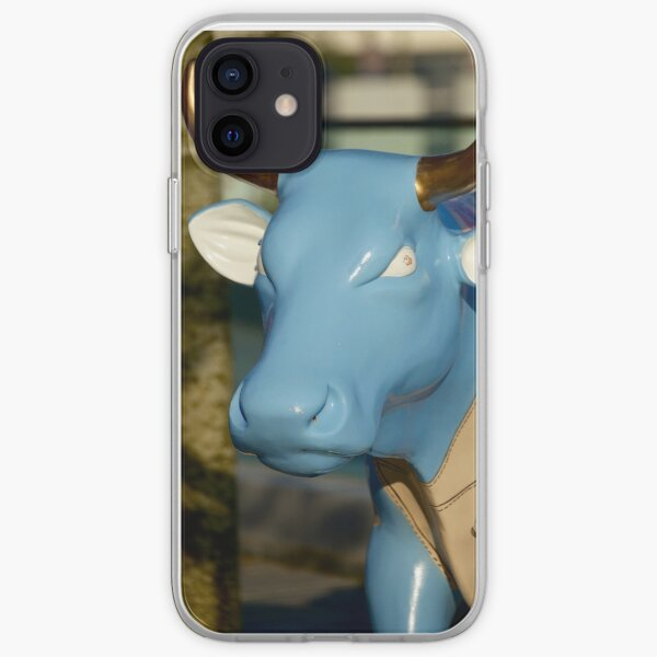 Cow Parade - Shirt Factory Horn, Derry iPhone Soft Case