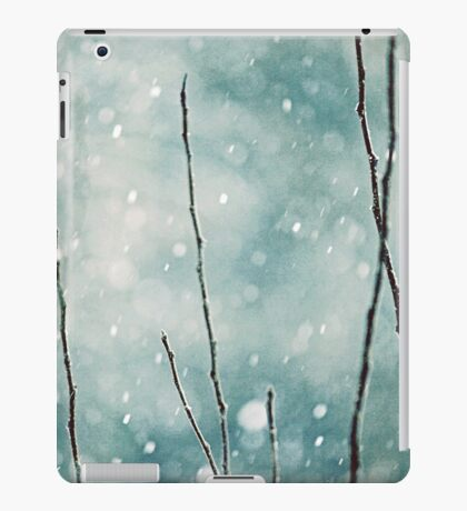 The sound of winter iPad Case/Skin