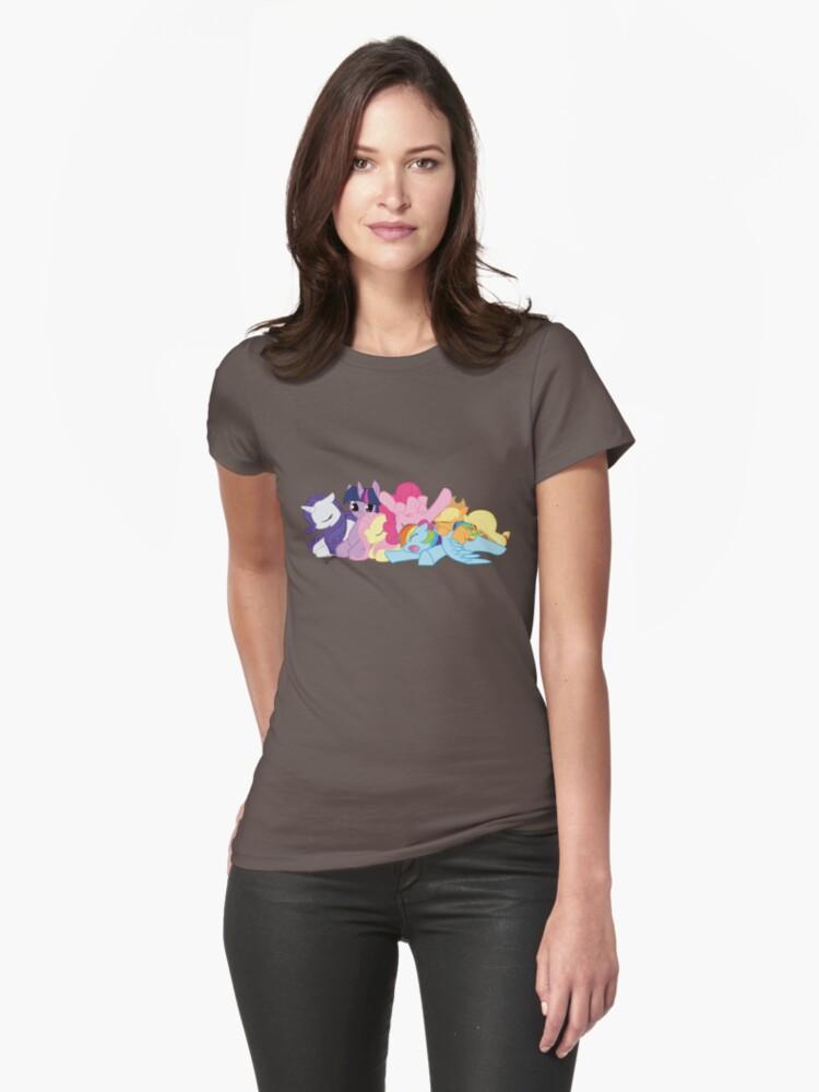Sleepy Ponies by DawnAllies
