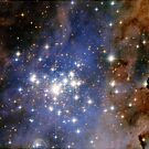 Trumpler 14 Star Cluster by destinysagent