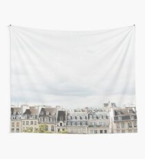 Paris rooftop Wall Tapestry