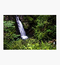 Amazing Waterfall - Travel Photography Photographic Print