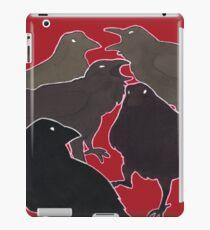 A Murder (Of Crows) iPad Case/Skin