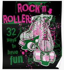 ROCKN ROLLER WAY TO HAVE FUN Cute Soft Screen Printed Summer Graphic Gift Tshirt Poster