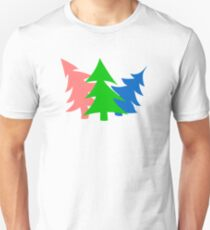 Whimsical Christmas Trees T-Shirt