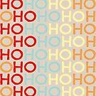Christmas HoHoHo Typography by lollylocket