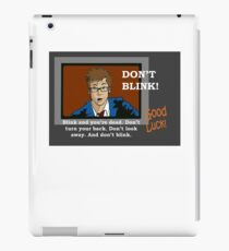 Doctor Who - Don't Blink iPad Case/Skin