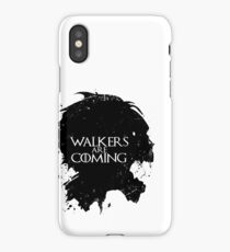 Walkers Are Coming iPhone Case