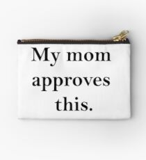 mom approves(b) Studio Pouch
