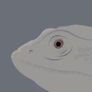 Bearded Dragon Vector by lollylocket