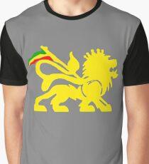 Lion Rasta Man Graphic T-Shirt
