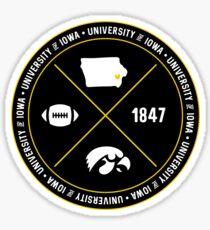 University of Iowa - Style 12 Sticker
