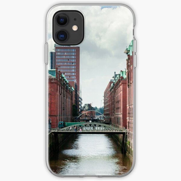 hamburg hafencity 01 iPhone Soft Case