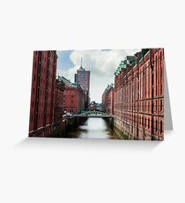 hamburg hafencity 01 Greeting Card