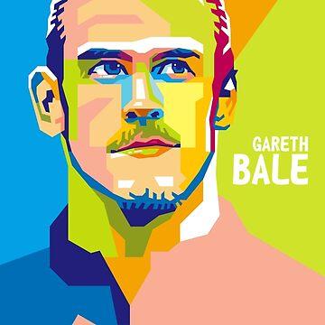 WPAP - Gareth Bale by hwart