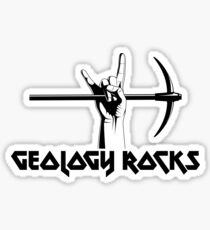 Geology Rocks Sticker