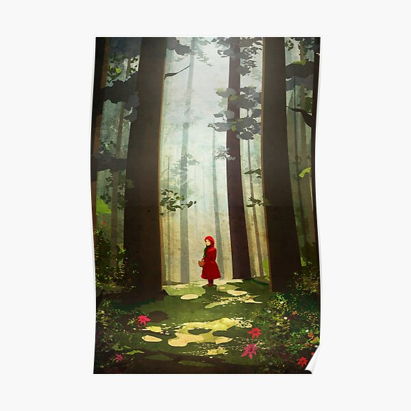 Little Red Riding Poster