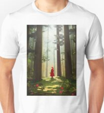 Little Red Riding Unisex T-Shirt