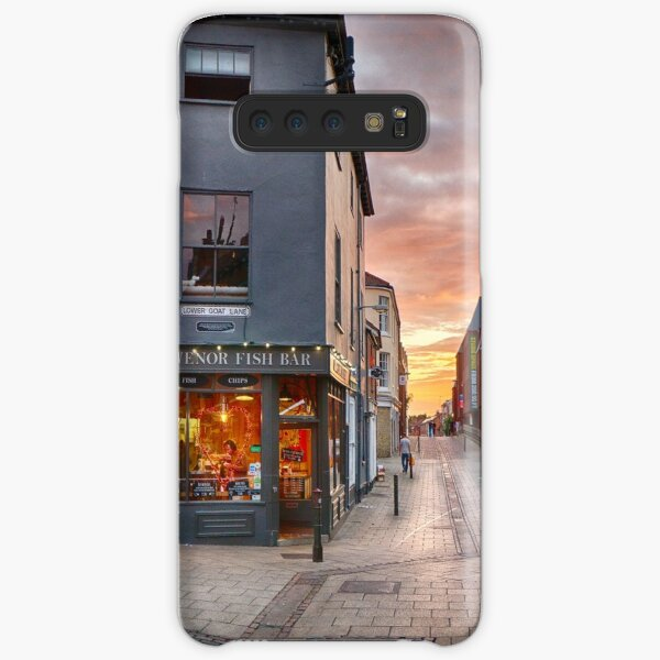 Summertime Sunset on Pottergate Samsung Galaxy Snap Case
