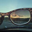Sunset through Sunglasses by jperk