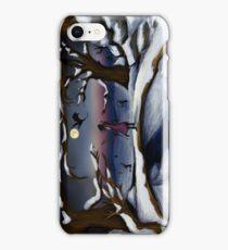 Dragon's Last Snowfall- Digital Art iPhone Case/Skin