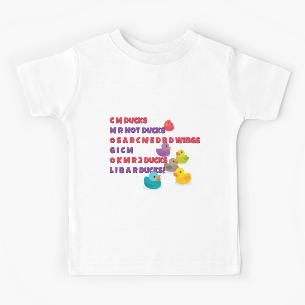 Details about  /Ducks District 5 Tee Mens TV Film Merch Geek Crew Neck Short Sleeve T-Shirt Top