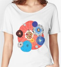 Abstract fantasy pattern Women's Relaxed Fit T-Shirt