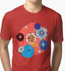 Abstract fantasy pattern Tri-blend T-Shirt
