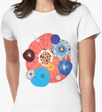 Abstract fantasy pattern Women's Fitted T-Shirt