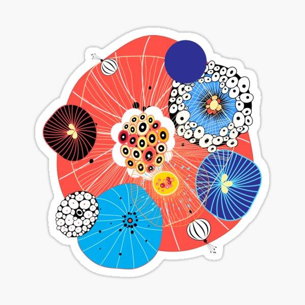 Abstract fantasy pattern Sticker