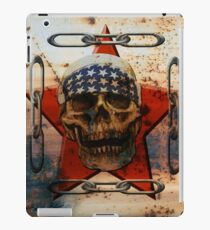 Rust USA SKULL iPad Case/Skin