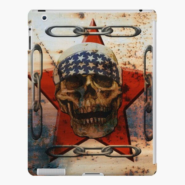 Rust USA SKULL iPad Snap Case