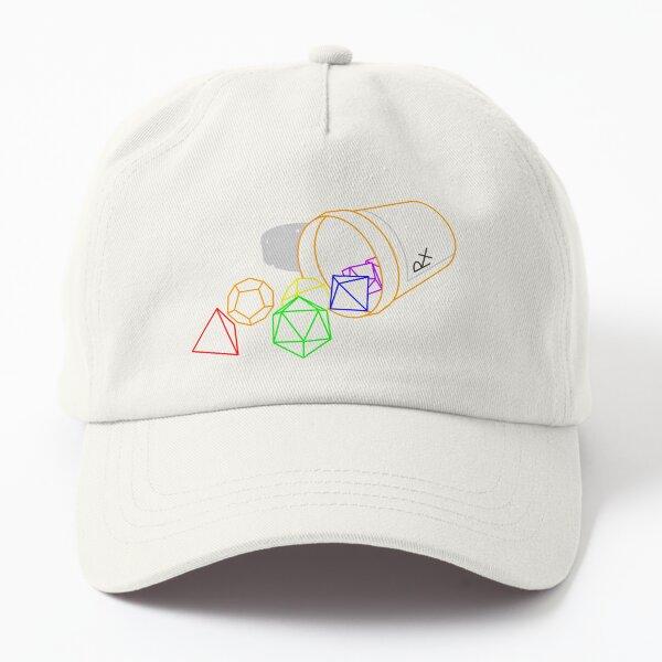 RPG Dice Prescription Dad Hat