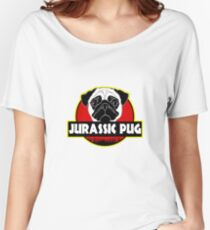 Pug Parody Funny Women's Relaxed Fit T-Shirt