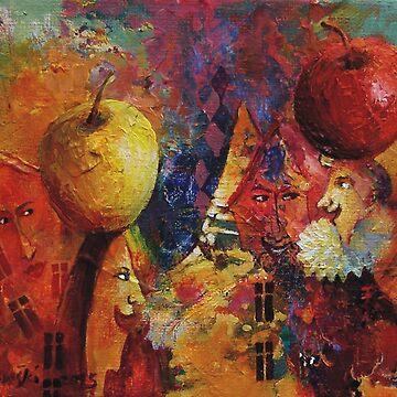 Apples by klozowski
