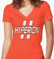 Hyperion Women's Fitted V-Neck T-Shirt