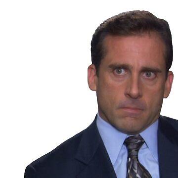 Michael Scott - Piercing Stare de TellAVision
