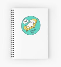 Therapy Dog Spiral Notebook
