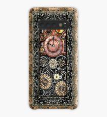 Infernal Steampunk Timepiece # 2B Vintage Steampunk Telefon Fällen Hülle & Klebefolie für Samsung Galaxy