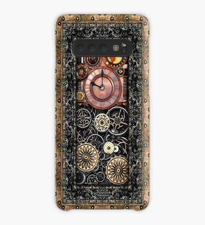 Infernal Steampunk Timepiece #2B Vintage Steampunk phone cases Case/Skin for Samsung Galaxy