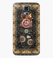 Infernal Steampunk Timepiece #2B Vintage Steampunk phone cases Case/Skin for Samsung Galaxy