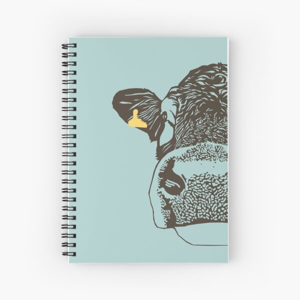 Lady Cow Spiral Notebook