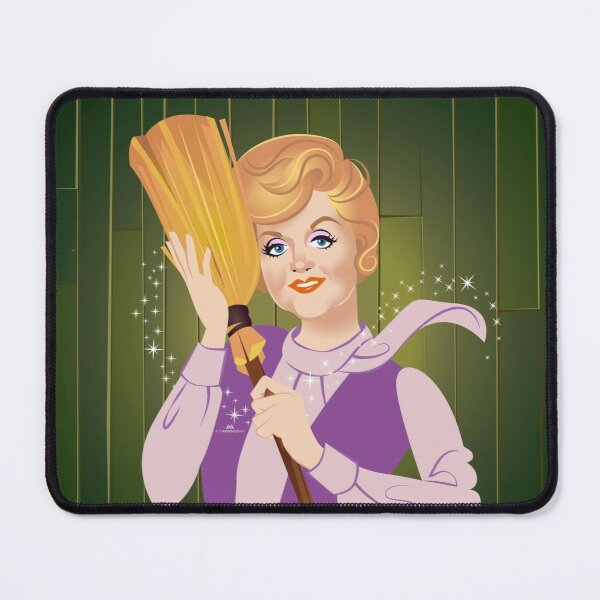 My first broom Mouse Pad