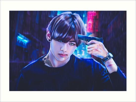kim taehyung art