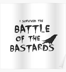Battle of the Bastards Poster